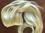 Изкуствени Екстеншъни за коса за снимки и прически